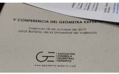 Crónica de la 5ª Conferencia del Geómetra Experto
