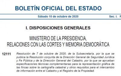 La AEGEX y la Resolución, de 7 de octubre de 2020