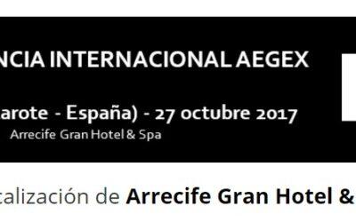 2017 – III Conferencia Internacional del Geómetra Experto